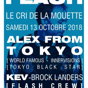 ALEX SCHEDULE / OCTOBER 2018