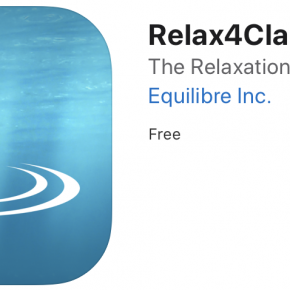"equilibre ""Relax4Clarity"" App"